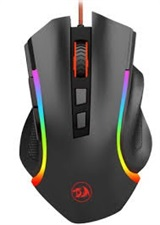 M607 GRIFFIN 7200 DPI, 7 Buttons, 5 Memory Modes, RGB Wired Gaming Mouse – Redragon